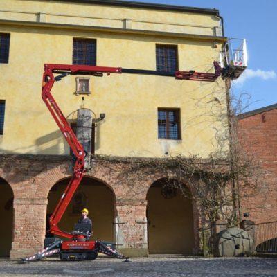 Hinowa LL15.70 spinhoogwerker van Safety Lift Leimuiden.