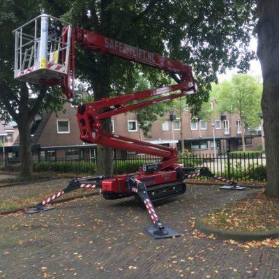Hinowa spinhoogwerker Safety Lift Leimuiden.