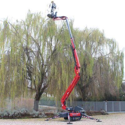 Spinhoogwerker Hinowa LL20.10 van Safety Lift Leimuiden